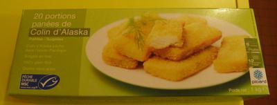 20 portions panées de colin d'Alaska - Product