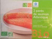 2 pavés de saumon atlantique Bio - Product - fr