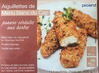 Aiguillettes de Merlu Blanc du Cap, Panure Céréales aux Herbes - Product