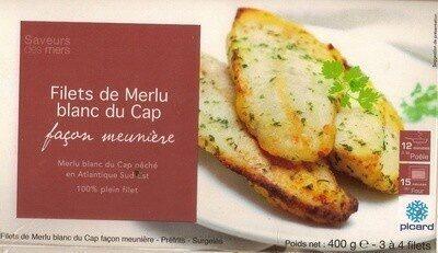 Filet de Merlu blanc du Cap façon meunière - Product - fr