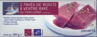 2 Pavés de Bonite à ventre rayé - Product
