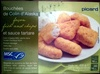 Bouchées de Colin d'Alaska façon fish and chips et sauce tartare - Product