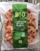 Champignons de Paris émincés Bio - Product