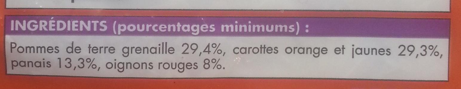 Légumes à rôtir - Ingrédients - fr