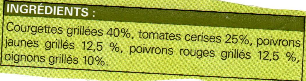 Mélange de légumes vapeur - Ingrédients - fr