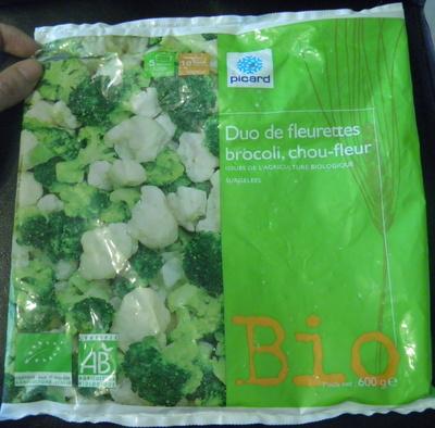 Duo de fleurettes brocolis, chou-fleur Bio - Producto - fr