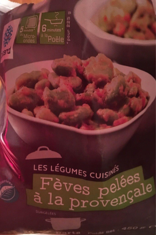 Fèves Pelées à la Provençale - Produit