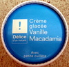 Crème glacée Vanille - Macadamia - Product