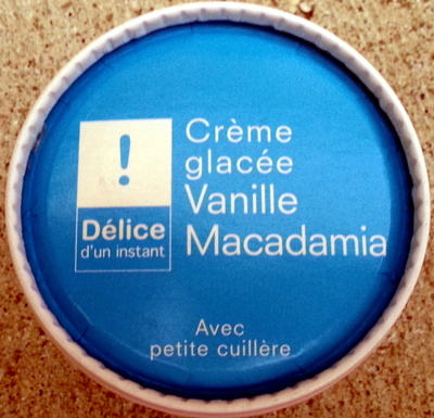 Crème glacée Vanille Macadamia - Produit - fr