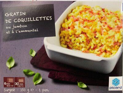 Gratin de coquillettes au jambon et à l'emmental - Produkt