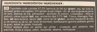 Gratin de coquillettes au jambon et à l'emmental - Inhaltsstoffe