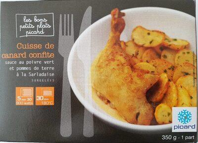 Cuisse de canard confite - Produit - fr