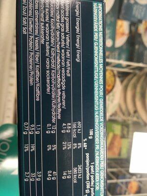 Canard confit, sauce au poivre vert et pommes de terre à la Sarladaise - Voedingswaarden - fr