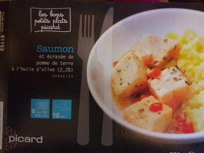Saumon et écrasée de pomme de terre à l'huile d'olive (2,2%) - Product - fr