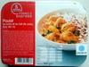 Poulet au curry et au lait de coco, duo de riz - Produit