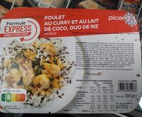 Poulet au Curry et au Lait de Coco, duo de Riz - Produit - fr