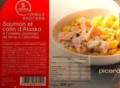 Saumon et colin d'Alaska - Product - fr
