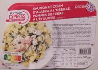 Saumon et Colin d'Alaska à l'oseille, pommes de terre - Product - fr