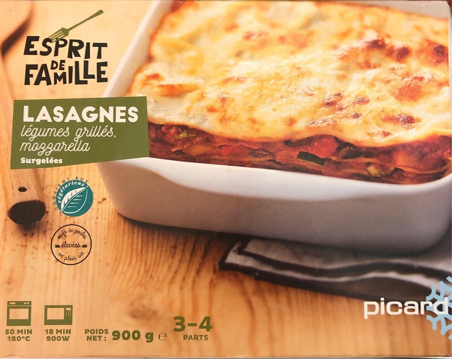 Lasagnes Légumes Grillés, Mozzarella - Produit