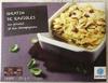 Gratin de ravioles au poulet et aux champignons - Product