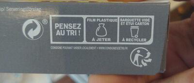 Gratin de ravioles au poulet et aux champignons - Instruction de recyclage et/ou informations d'emballage - fr