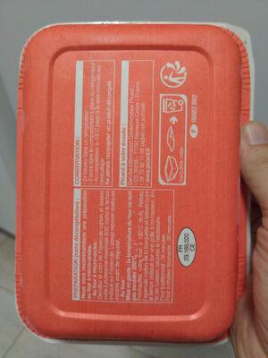Poulet sauce citron vert et coriandre, purée de patate douce - Instrucciones de reciclaje y/o información de embalaje - fr