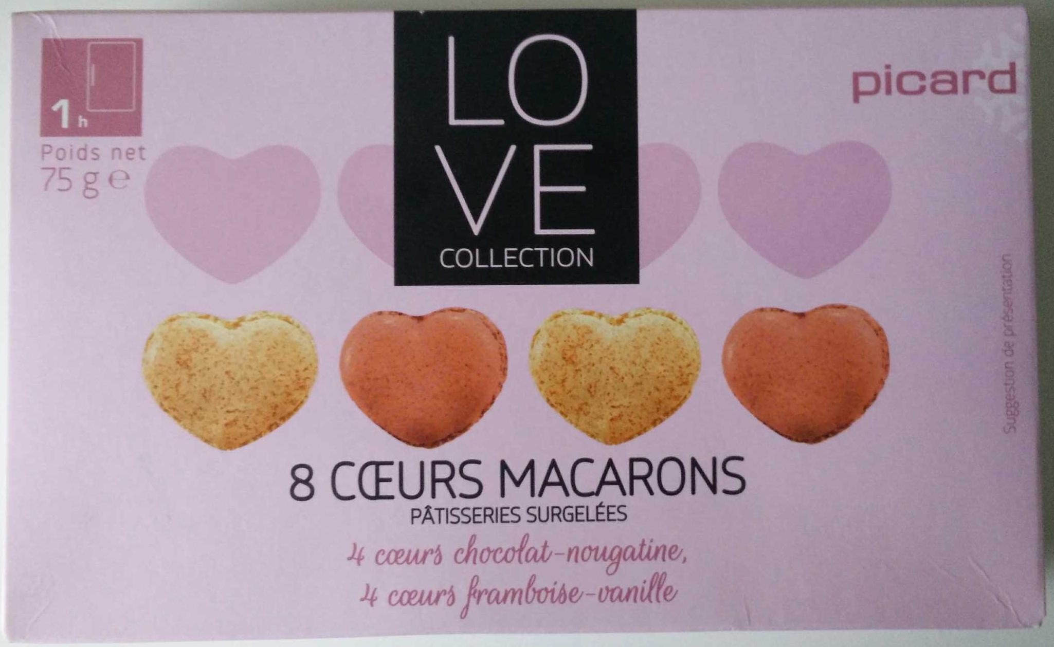 8 Cœurs Macarons - Produit - fr