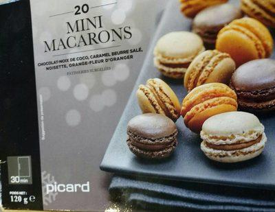 Mini macarons - Product