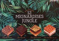 12 Mignardises Jungle - Produit