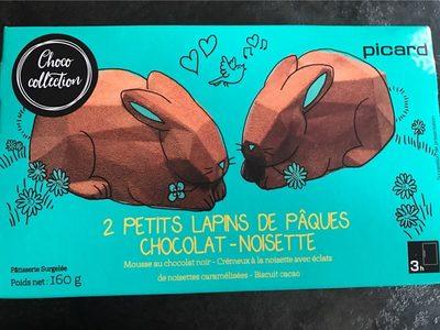 Petits Lapins de Pâques Chocolat-Noisette - Produit - fr