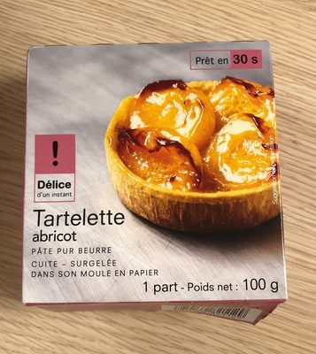 Tartelette abricot - Product