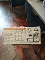 Moelleux aux pommes pur beurre - Informations nutritionnelles