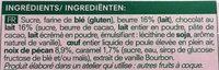 Blondie - Ingredients - fr