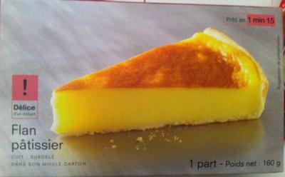 Flan Pâtissier Surgelé - Product