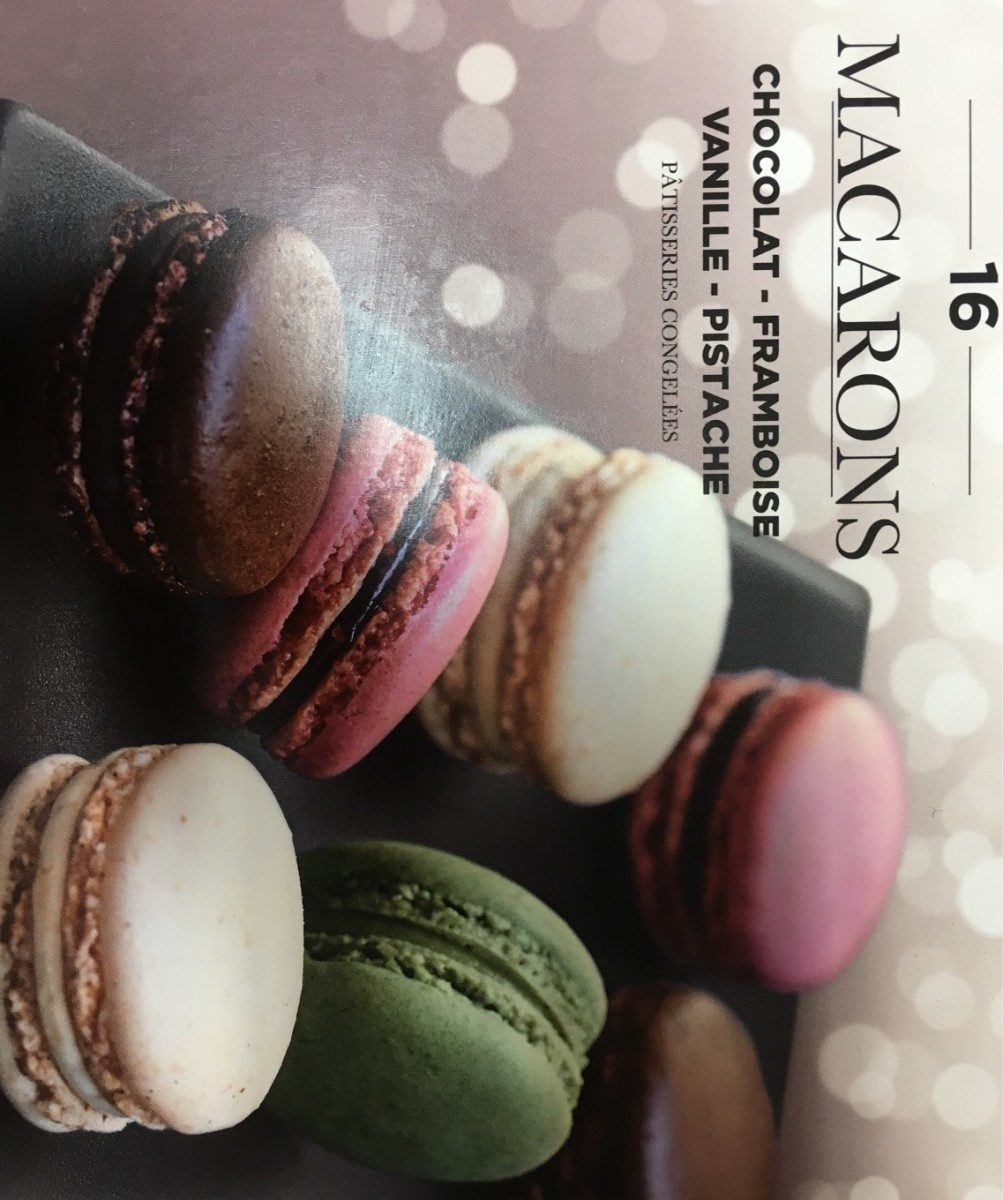 16 macarons - Product