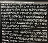 16 macarons - Ingredients