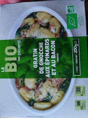 Gratin de gnocchis aux épinards et au bacon - Produit - fr