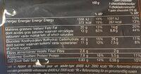 Pain aux chocolat pur beurre - Informations nutritionnelles - fr