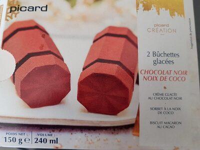 2 buchettes glacées - Product