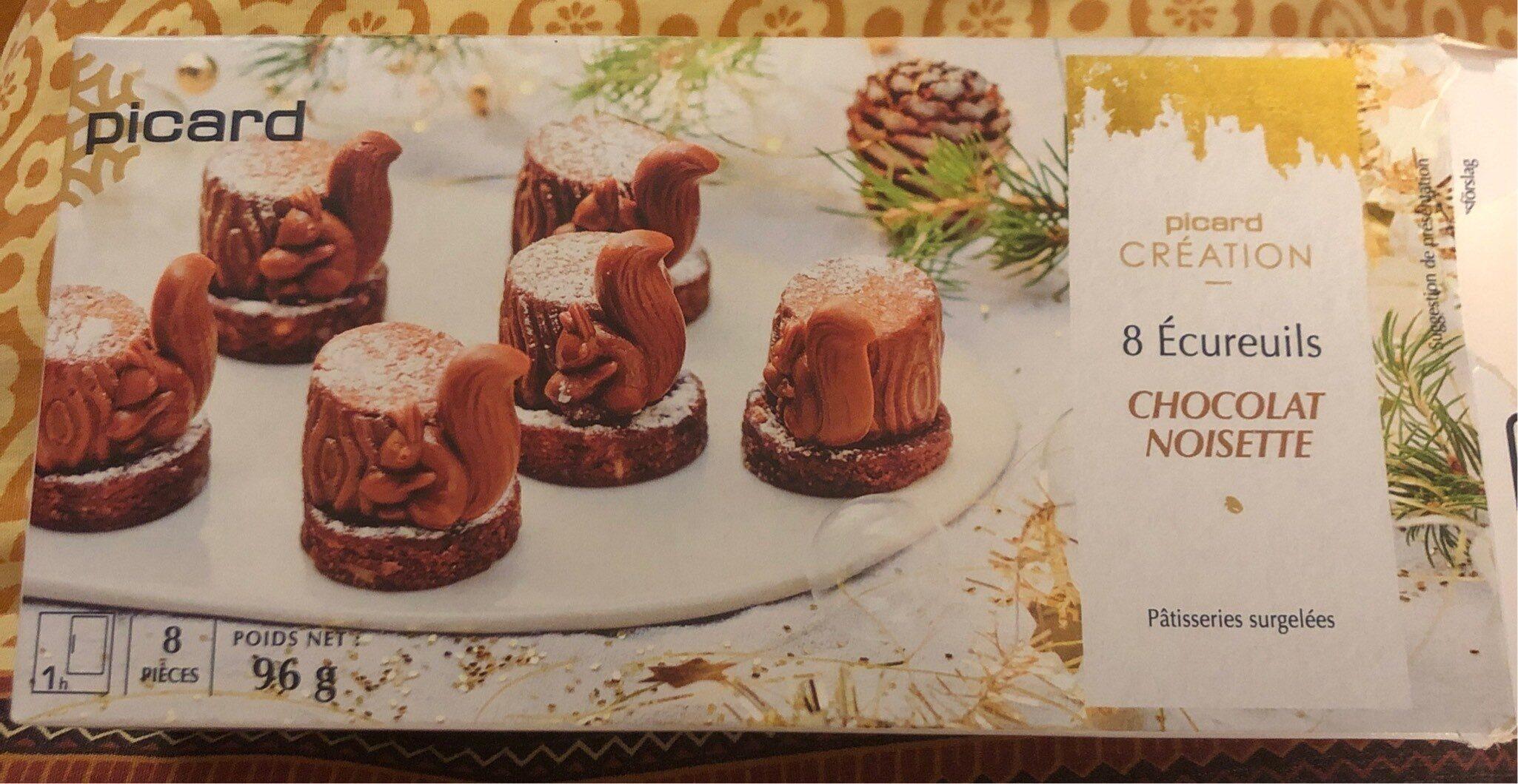 Ecureuil chocolat noisette - Product