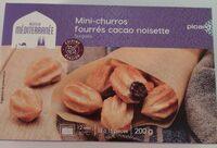 Mini Churros fourré cacao noisette - Produit - fr