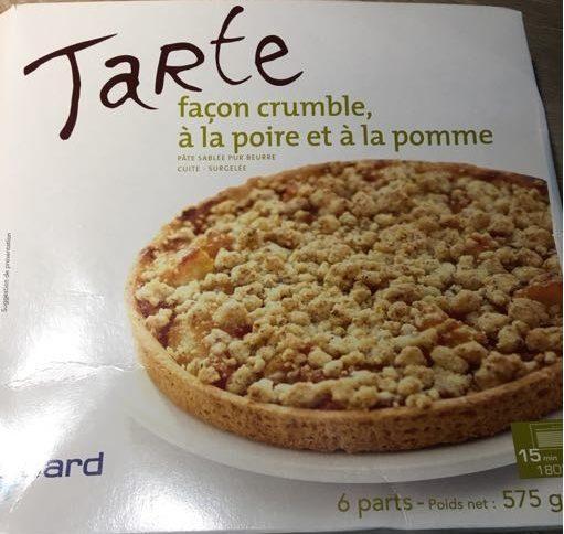 Tarte Façon Crumble à la Poire et à la Pomme - Product - fr