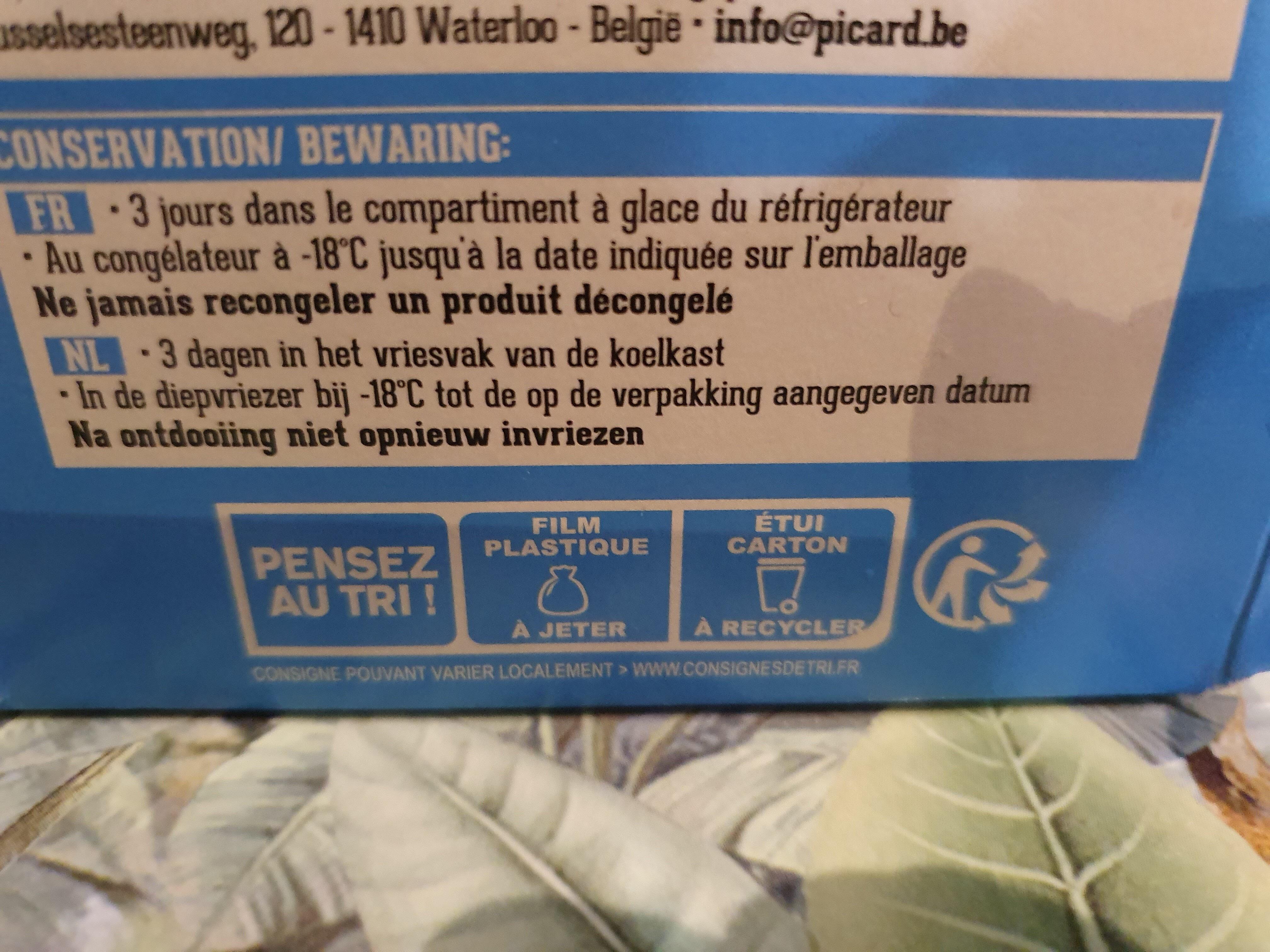 Banana Bread - Recyclinginstructies en / of verpakkingsinformatie - fr