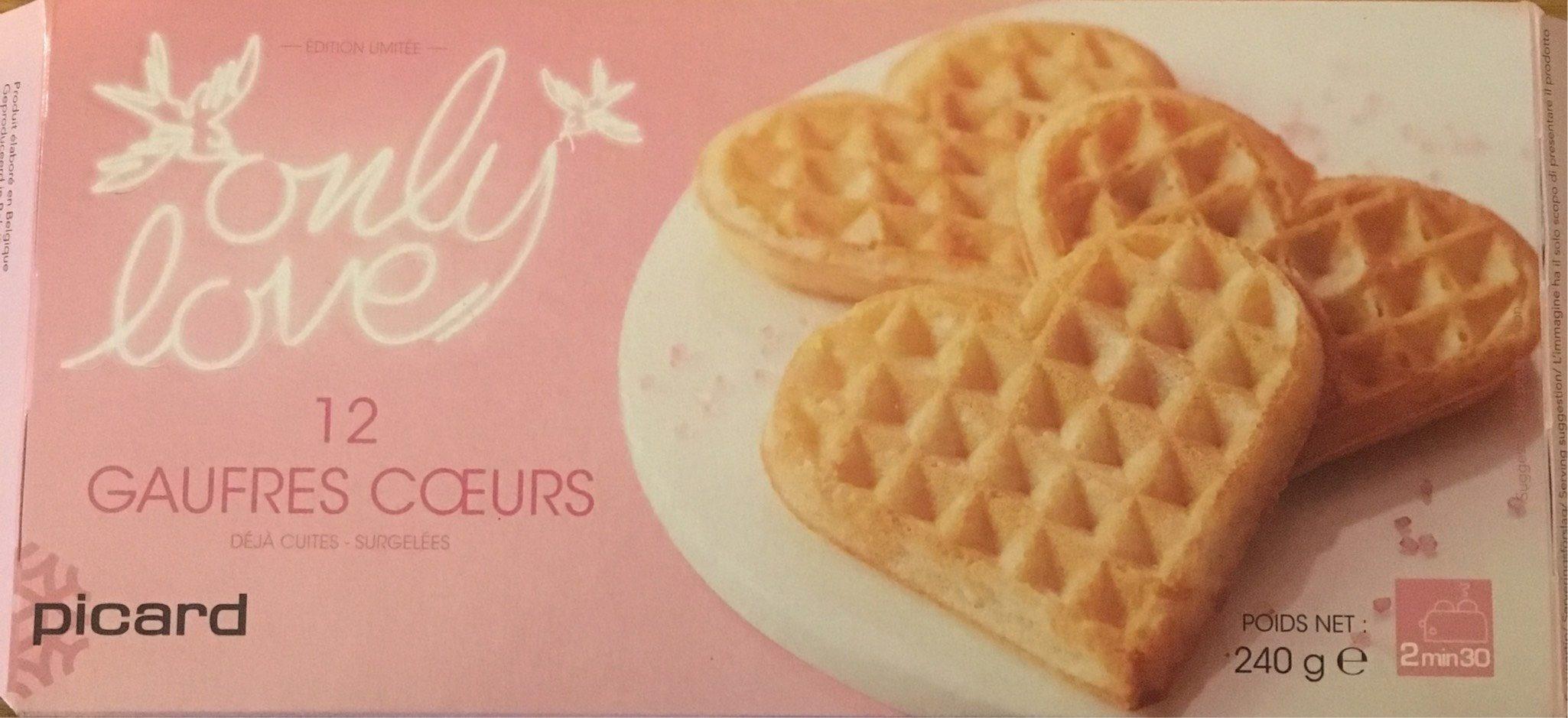 12 Gaufres Cœurs - Produit - fr
