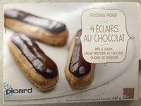 4 Éclairs au Chocolat - Produit - fr