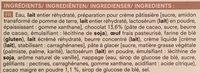 4 Éclairs au Chocolat - Ingrédients - fr