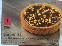 Tartelette au Chocolat et au Caramel Beurre Salé - Product