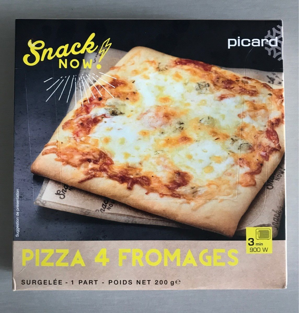 Pizza aux 4 fromages - Product