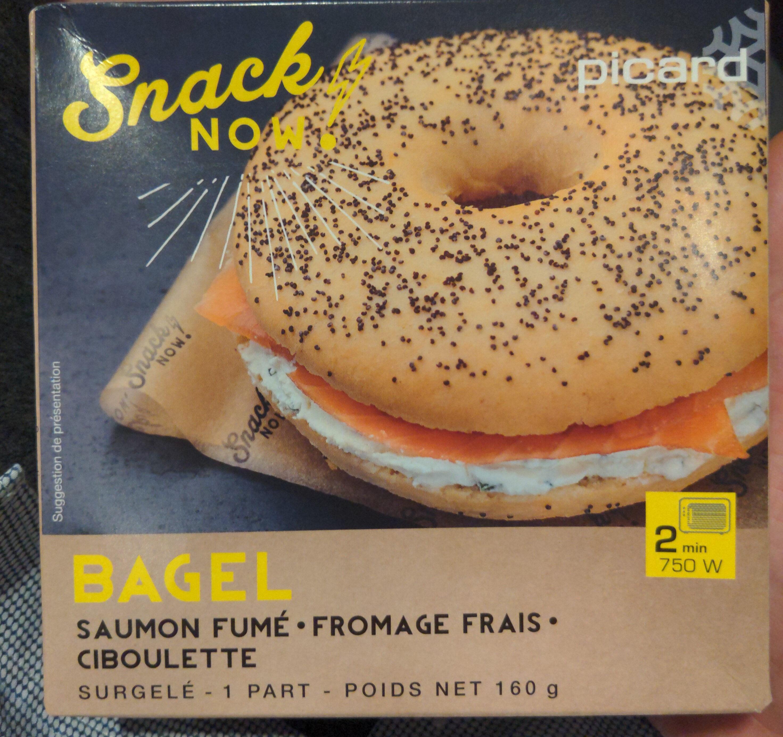 Bagel saumon fumé - Product - fr