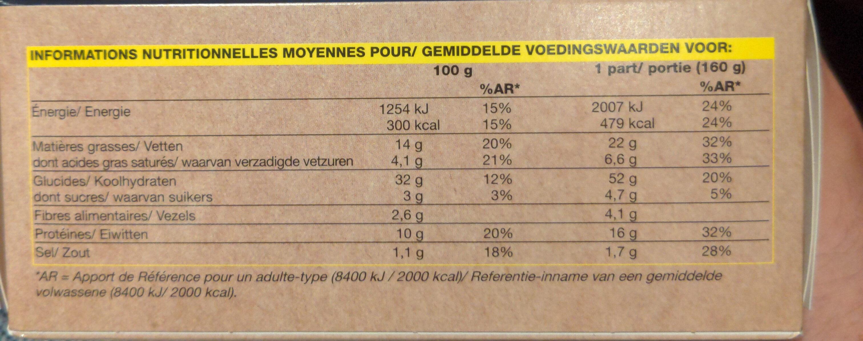Bagel saumon fumé - Voedingswaarden - fr